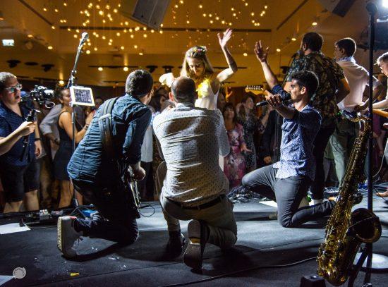 כריסטינה & גיא – להקת ריטלין בקבלת פנים וריקודים בחתונה