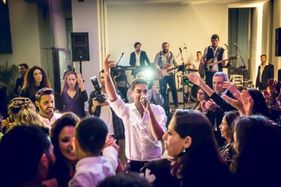 להקה לקבלת פנים בחתונה