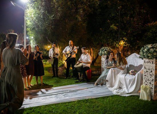 נאווה & ירח – להקת ריטלין בקבלת פנים, כיסא כלה ומסיבת ריקודים