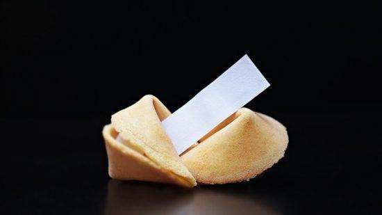 עוגיות מזל ממותגות